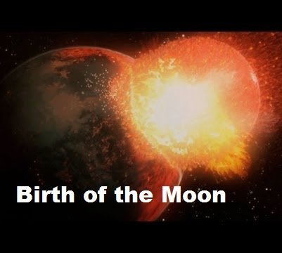 Cosmic Journeys: Birth of the Moon